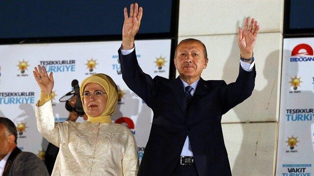 Cumhurbaşkanı Erdoğan: Şahsıma, ittifakıma ve partime güvenen tüm kardeşlerime, milletime şükranlarımı sunuyorum