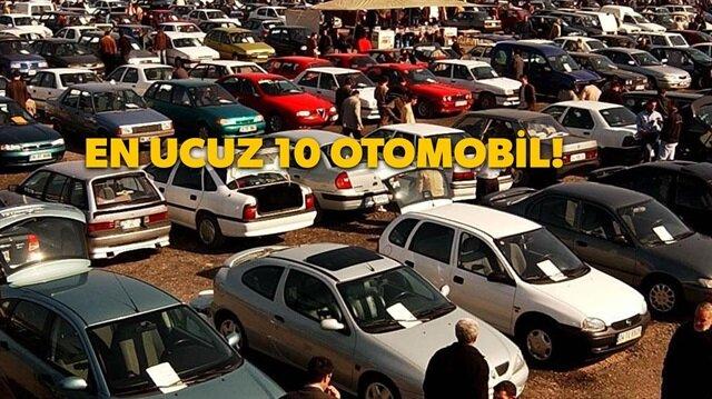 Araba almak pahalı demeyin: En ucuz ve en iyi 10 otomobil!