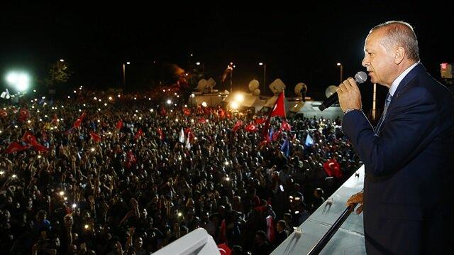 Cumhurbaşkanı Erdoğan'ın konuşmasını kısa tutmasının nedeni belli oldu