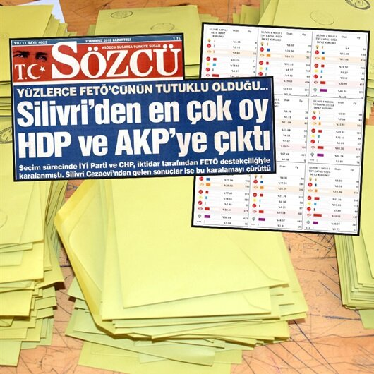 Sözcü'nün Silivri manşeti de yalan çıktı