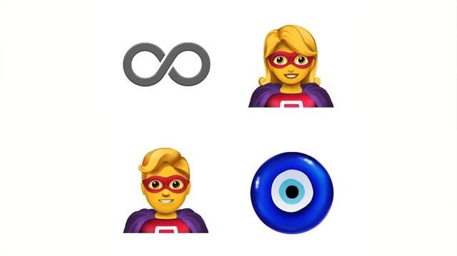 Apple'dan 70 yeni emoji