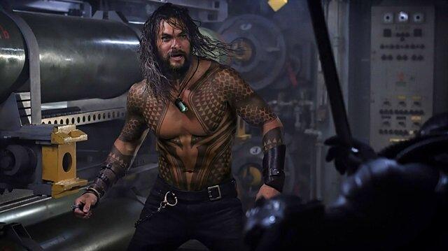 Jason Momoa'lı Aquaman'in ilk fragmanı yayınlandı