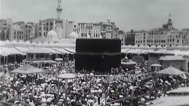 Mekke'nin 1950 yılında çekilen görüntüleri ortaya çıktı