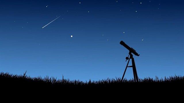 Türkiye, meteor yağmurunu GZT'den izleyecek!