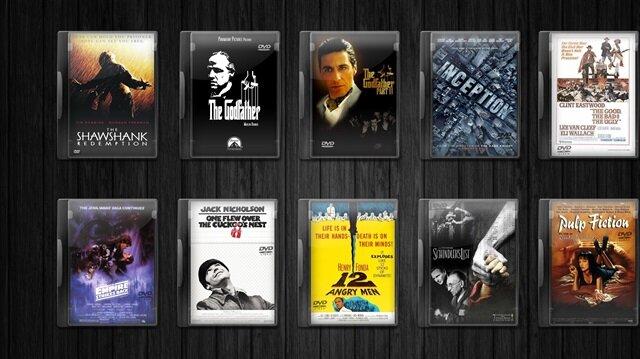 IMBD sıralamasındaki en yüksek puanlı 10 film
