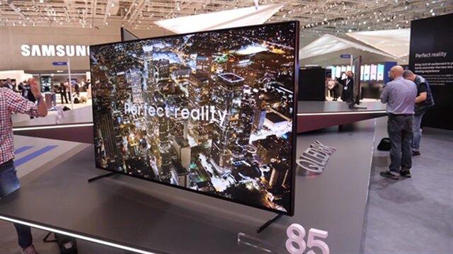 IFA 2018: Samsung dev 8K televizyonunu tanıttı!