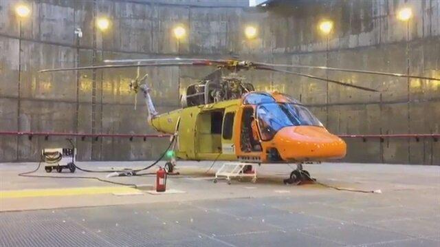 Sonunda oldu: Yerli helikopter motor çalıştırdı!