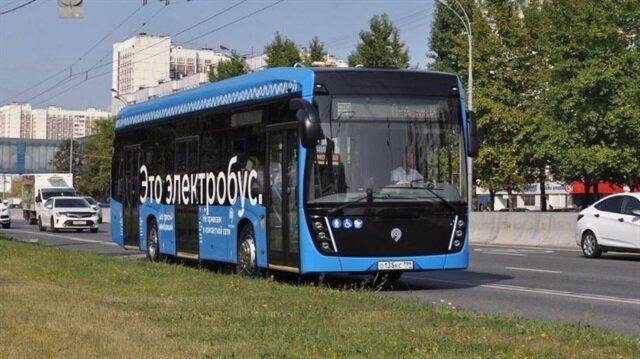 Rusya'da yeni dönem resmen başladı: Elektrikli otobüsler yollarda!