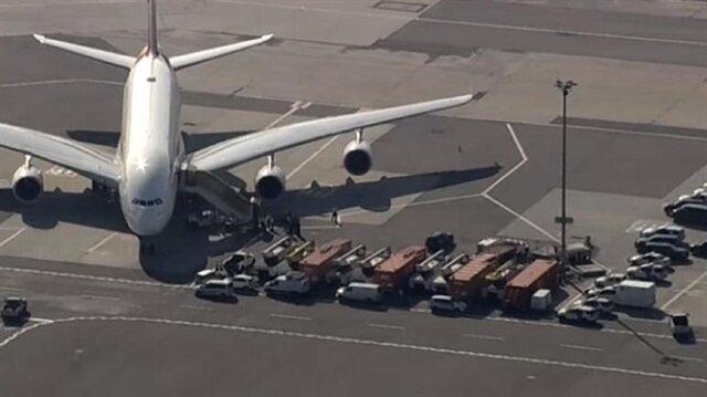 ABD'de büyük panik! Uçak karantinaya alındı
