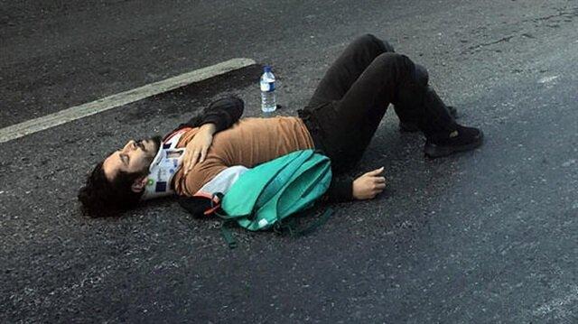 Genç oyuncu trafik kazası geçirdi!