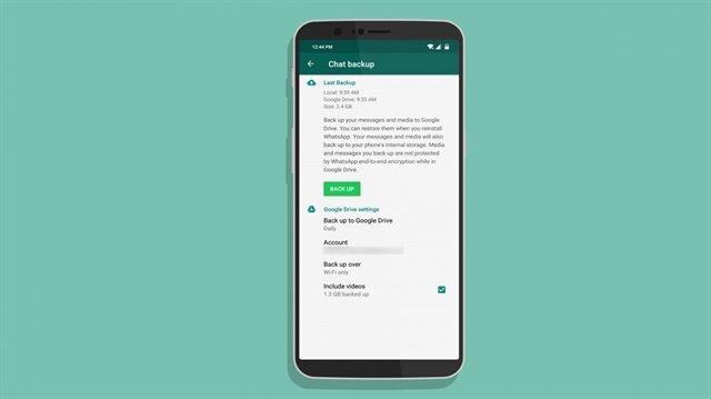 Android telefonlarda WhatsApp yedeği nasıl alınır?