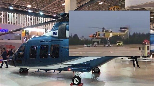 Türkiye'nin büyük gururu: Yerli helikopterimiz göklerde!
