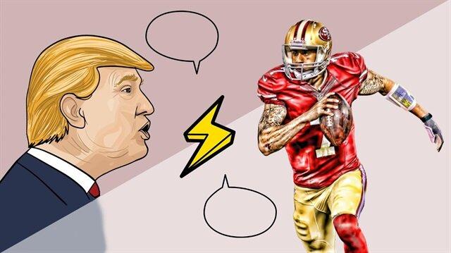 Başkan Trump'ı çıldırtıp ayakkabıları yaktıran isim: Colin Kaepernick