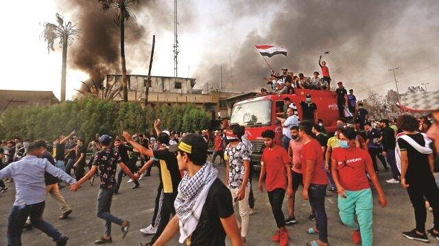 Basra'da iç savaş çıkar