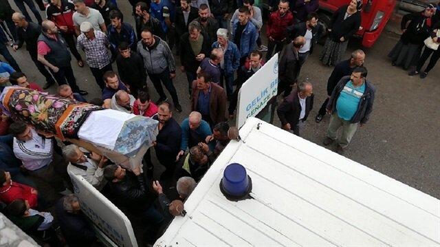 Zonguldak'taki feci kazada ölen Şeyma son yolculuğuna gözyaşlarıyla uğurlandı
