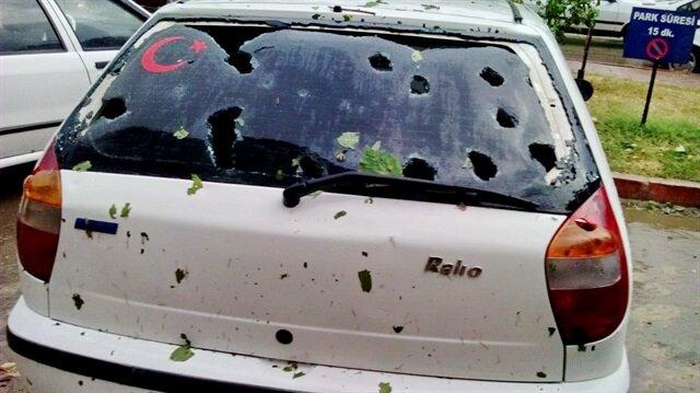 Kastamonu'da ceviz büyüklüğünde dolu yağışı: 370 araç ve 90 evde hasar