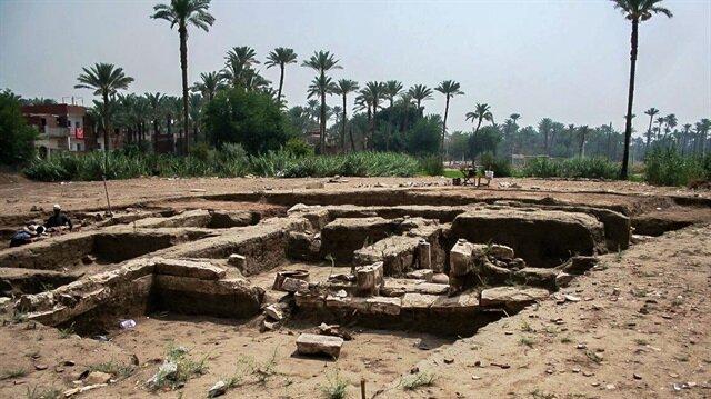 Mısır'da 2 bin yıllık ev kalıntısı bulundu: Ev kırmızı tuğladan yapılmış