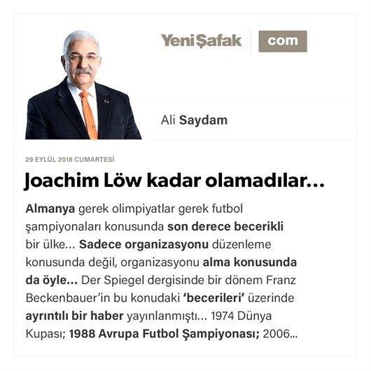 Joachim Löw kadar olamadılar…