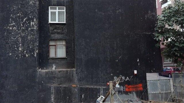 Yedi katlı binanın temelinden gürültüler gelince polis harekete geçti