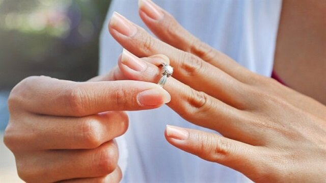 Yüzüğü nereye attığınıza dikkat edin! Mahkemeden tek taş yüzük kararı