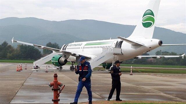 Zonguldak'ta yolcu uçağı pistten çıktı: Yolcular tahliye edildi