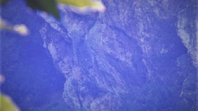 Uludağ'da görenleri şaşkına çeviren görüntü