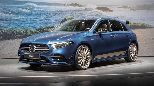 Paris Otomobil Fuarı'na Mercedes damgası: 2019 AMG A35!