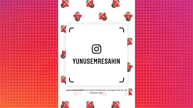 Instagram'da Nametag nasıl oluşturulur?