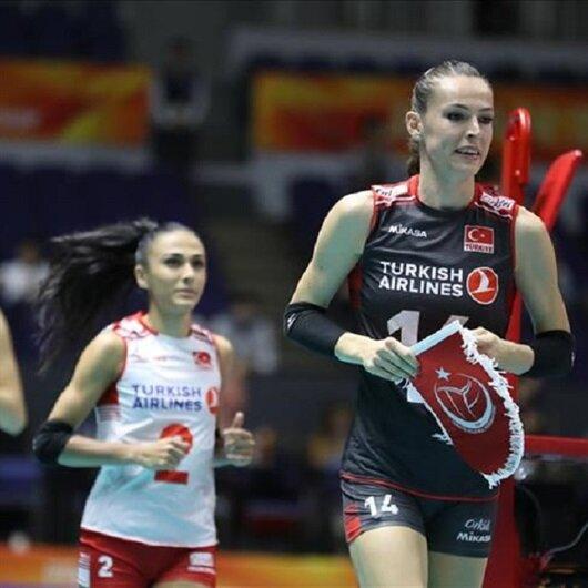 Turkey eliminated in 3rd round in women's volleyball