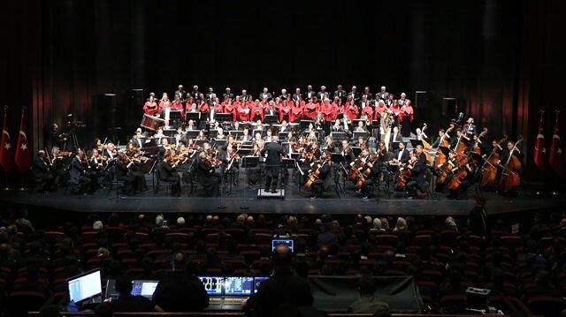 Cumhurbaşkanlığı Senfoni Orkestrası özel konserle açıldı