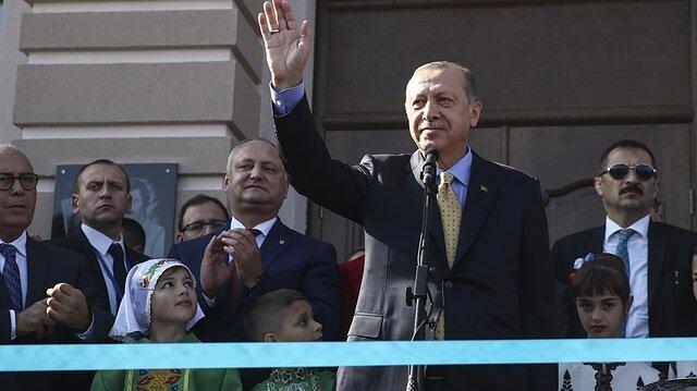 Cumhurbaşkanı Erdoğan: 300 milyonluk büyük bir aileyiz