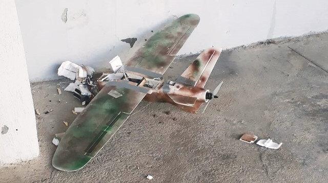 Model uçakla saldırdılar