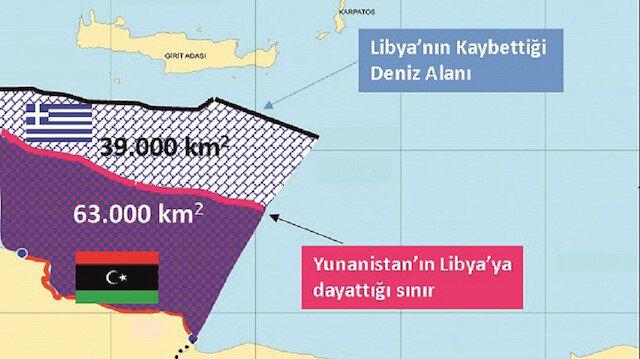 Libya'da bu harita açıldı