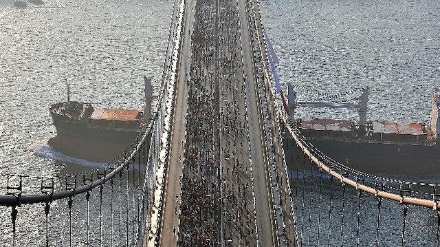 İstanbul Maratonu'nda ilk start verildi