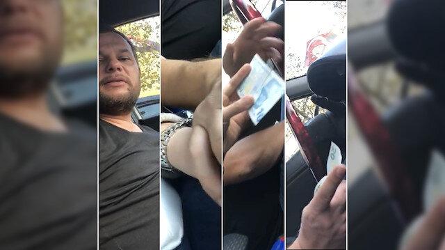 Taksici kadın turisti hem taciz etti hem de dolandırdı