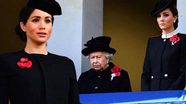 Kraliyetin katı kuralları Kate Middleton ve Meghan Markle'i birbirinden ayırdı