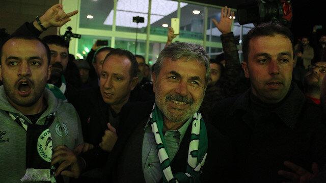 Aykut Kocaman Konya'da coşkuyla karşılandı