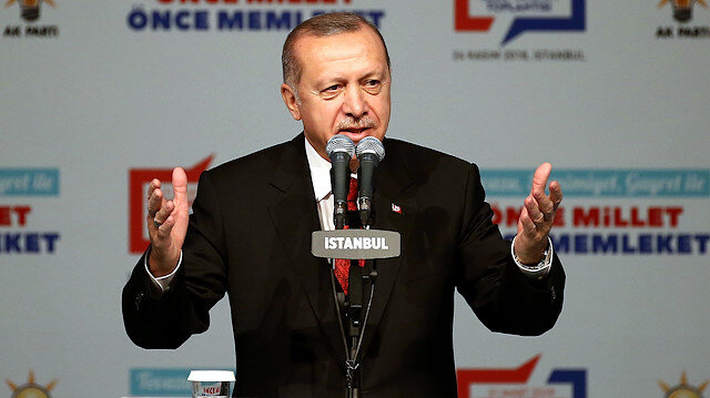Erdoğan AK Parti'nin 40 ildeki adayını açıkladı