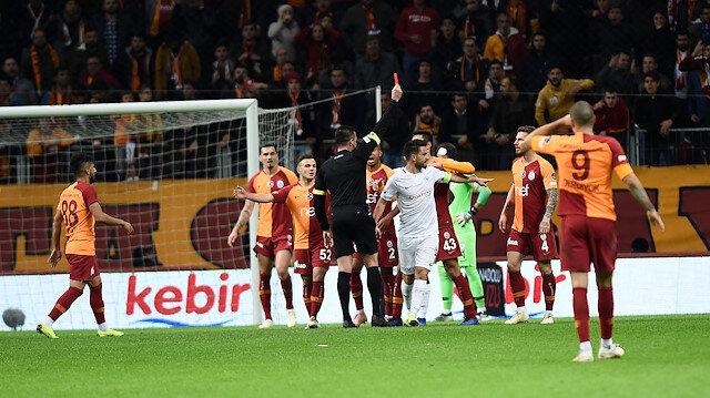 TFF, Galatasaray-A.Konyaspor maçındaki tartışmalı penaltıyı mercek altına alıyor