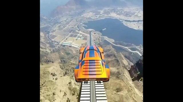 GTA 5 yarış oyunlarına taş çıkarıyor