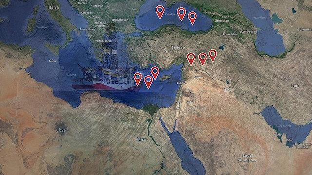 ABD Türkiye'yi çevreliyor: Şimdi de Doğu Akdeniz'i kaşıyorlar