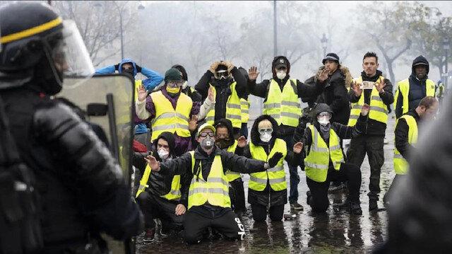 Fransa'da sarı yelek satışlarında büyük patlama: Yüzde 22 artış yaşandı