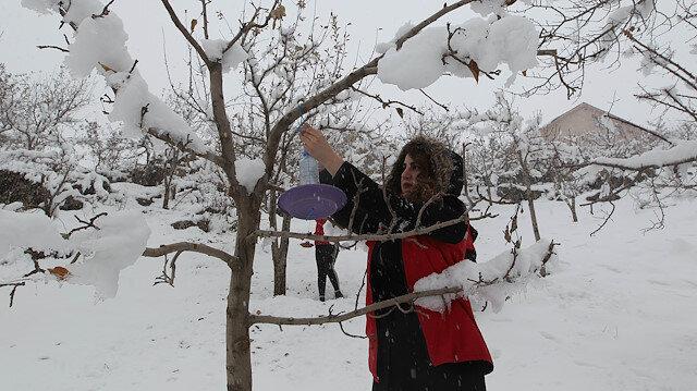 Öğrencilerden duygulandıran duyarlılık: Kışta kuşları unutmadılar