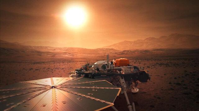 Uzay aracı InSight, Mars'tan ses getirdi