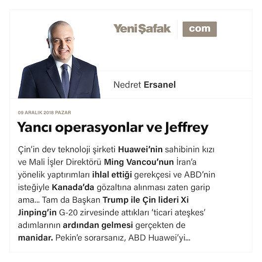 Yancı operasyonlar ve Jeffrey gambiti...