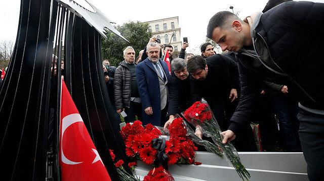 Beşiktaş Kulübü şehitleri unutmadı