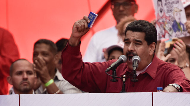 Venezuela Devlet Başkanı Maduro: ABD, Venezuela'da darbe yapmak istiyor