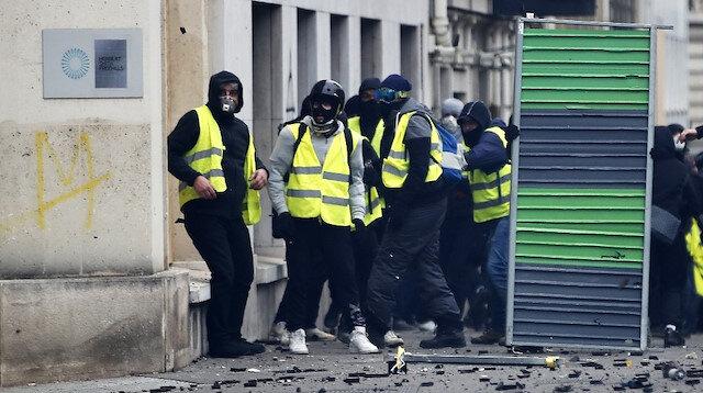 Sarı yeleklilere gözdağı: Gözaltı sayısı 85 oldu