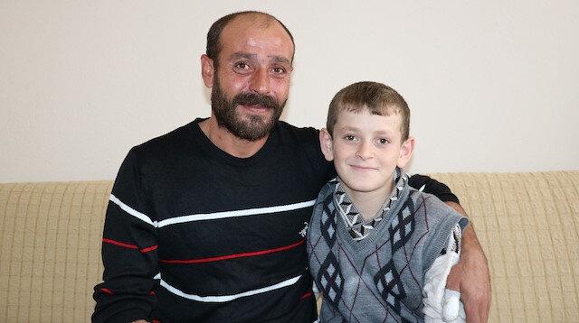12 yaşındaki Hasan'ın yüzü yardımlarla güldü