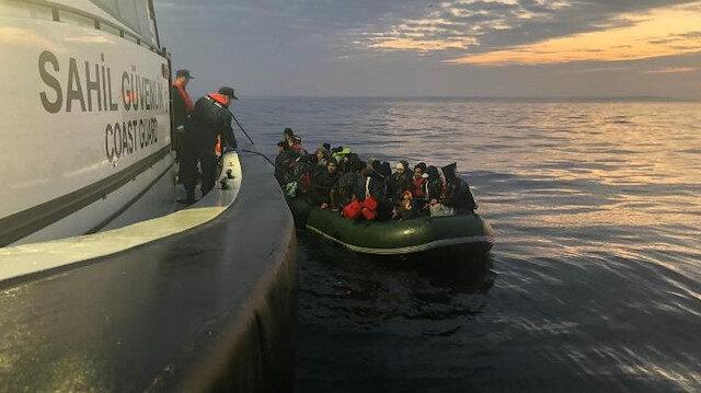 Edirne'de 47 düzensiz göçmen yakalandı